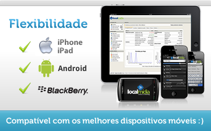 Streaming para iPhone, iPad, Android e Blackberry